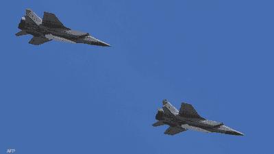 روسيا تدفع بمقاتلة لمرافقة طائرة عسكرية أميركية