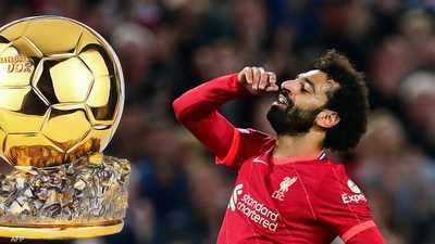"""محمد صلاح والكرة الذهبية.. حلم """"بعيد المنال"""" هذا العام"""