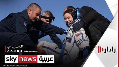 الطاقم الروسي يصور جزءا من فيلم خيالي في المحطة الدولية