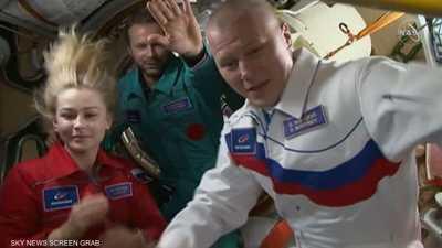 موسكو تسبق واشنطن وتصور أول فيلم سينمائي في الفضاء