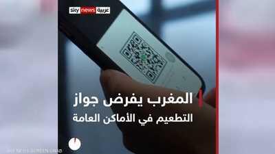 المغرب يفرض جواز التطعيم في الأماكن العامة