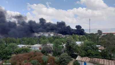 لليوم الرابع بإثيوبيا.. ضربات جوية على عاصمة إقليم تيغراي