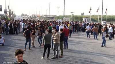 أنصار القوى الخاسرة يواصلون اعتصامهم في بغداد