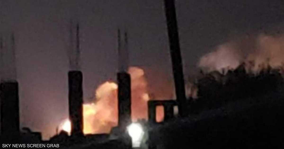 سقوط صاروخ على أحد أحياء ذمار شمالي اليمن بعد فشل إطلاقه - Sky News Arabia سكاي نيوز عربية