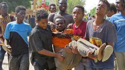 وزارة الصحة تعلن عدد قتلى اليوم الأول بمظاهرات السودان