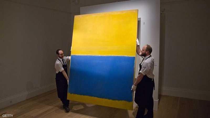 لوحة الفنان روثكو هذه بيعت مقابل 83 مليون دولار