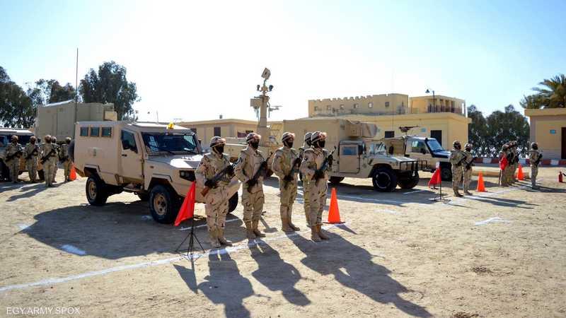 يخوض الجيش مواجهات مع جماعات إرهابية في سيناء منذ 2013