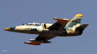 الجيش الليبي يغير على قاعدة تضم أسلحة تركية