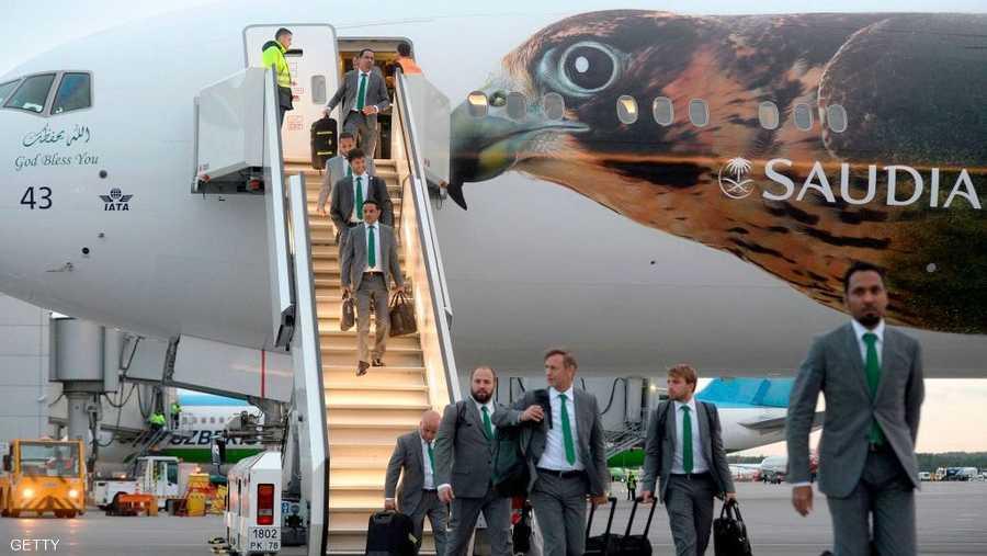 الأخضر السعودي في سان بطرسبرغ