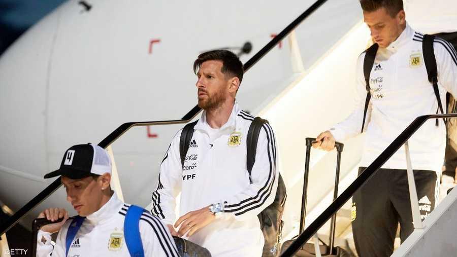 ميسي ورفاقه الأرجنتينيون