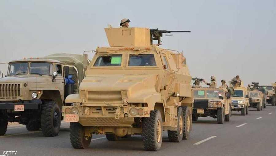 الجيش المصري يخوض حربا ضد الإرهاب في سيناء