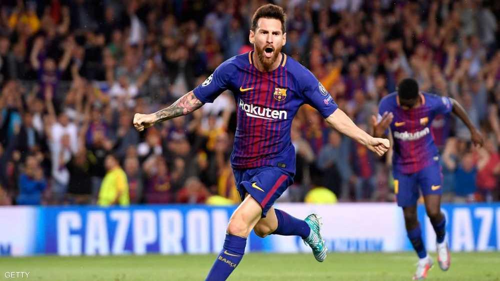 ميسي هداف الدوري الإسباني بـ34 هدفا