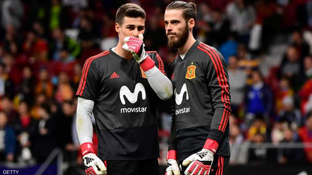 كان بديلا لدايفيد دي خيا مع منتخب إسبانيا خلال المونديال