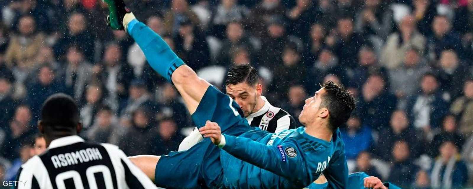 """""""مقصية الوداع"""".. آخر روائع رونالدو مع ريال مدريد بمرمى بوفون"""