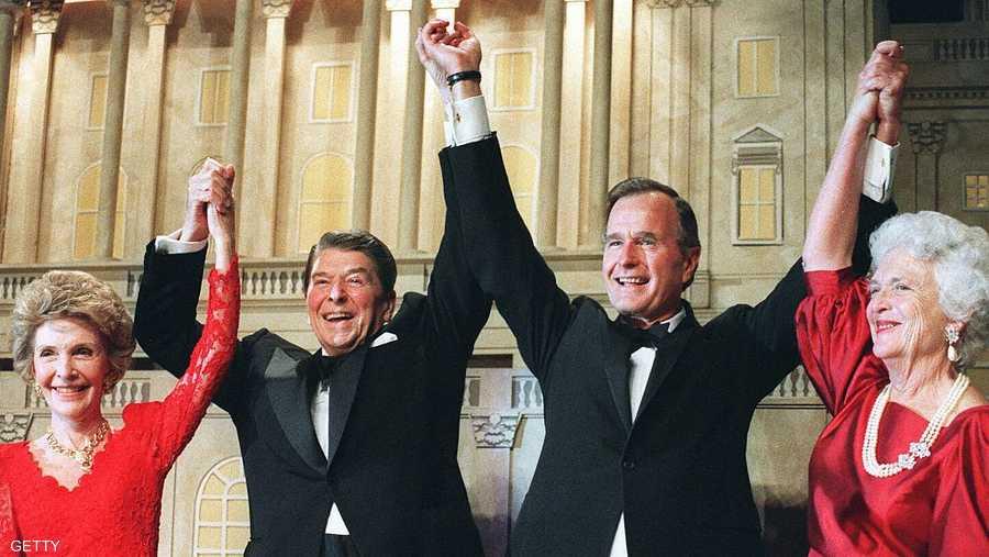 تلقى دعما من الرئيس الأسبق رونالد ريغان في 1988