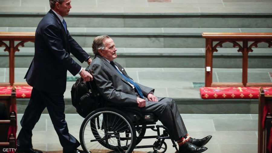 بوش الابن والأب