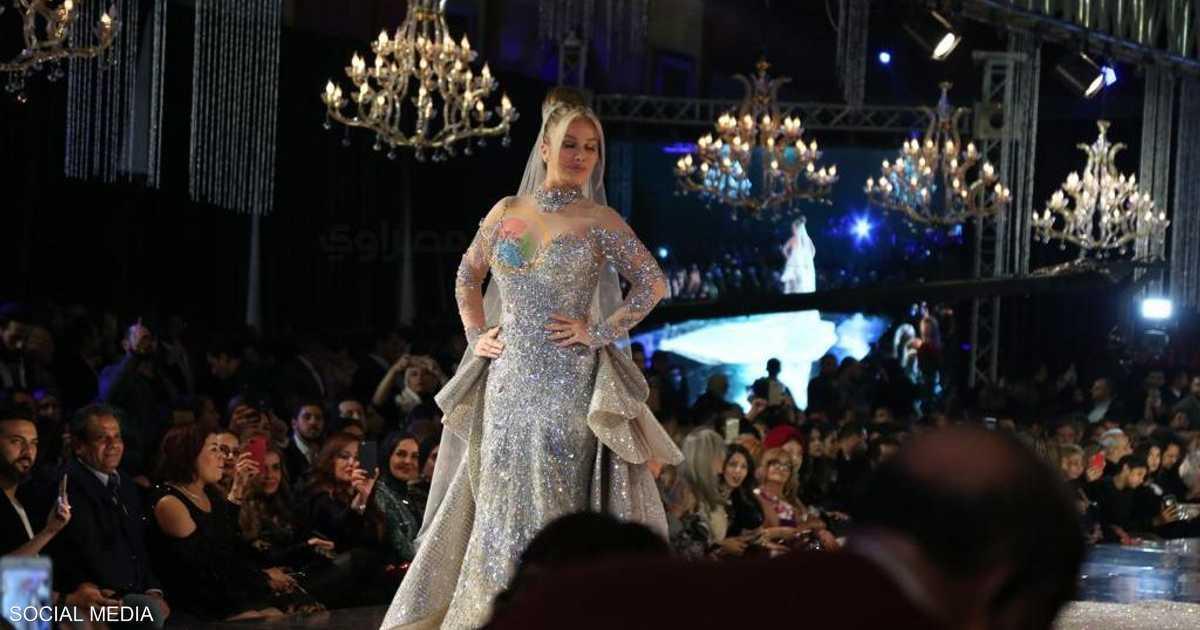 Nicole Saba y el vestido de 200 millones de libras. Una nueva controversia en Egipto.