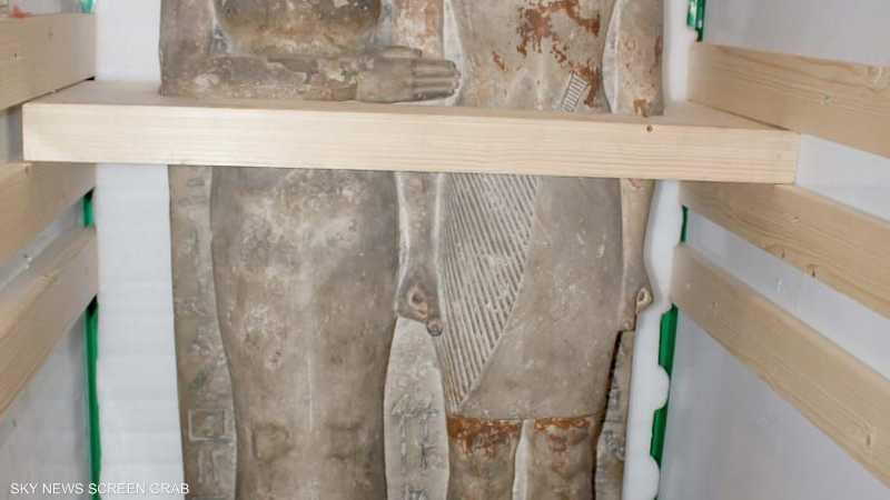 بمئات القطع مصر تنفذ عملية ضخمة بمشروع المتحف الكبير,آثار المتحف المصري المتحف المصري الكبير 1-1225438.jpg