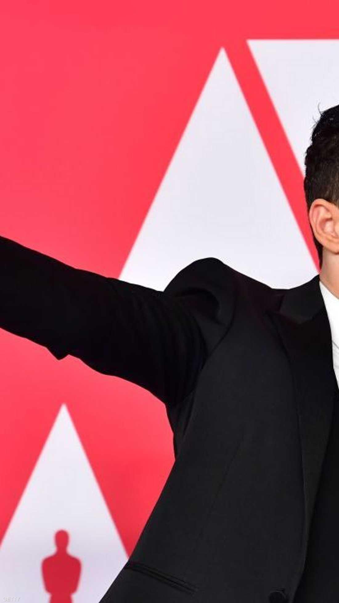 """فاز الممثل الأميركي، ذو الأصل المصري، رامي مالك بجائزة أوسكار القيمة لأفضل ممثل، عن دوره في فيلم """"الملحمة البوهيمية"""" (بوهيميان رابسودي)."""