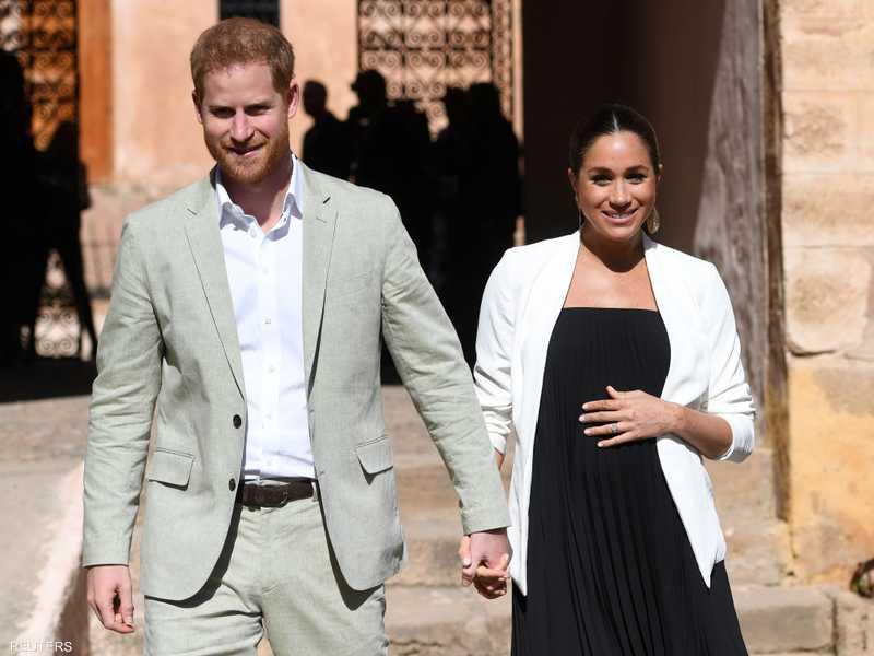 الأمير البريطاني هاري وزوجته ميغان - أرشيفية