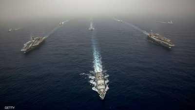 """إيران """"تراقب"""" السفن الأميركية بالخليج.. ولديها """"أرشيف صور"""""""