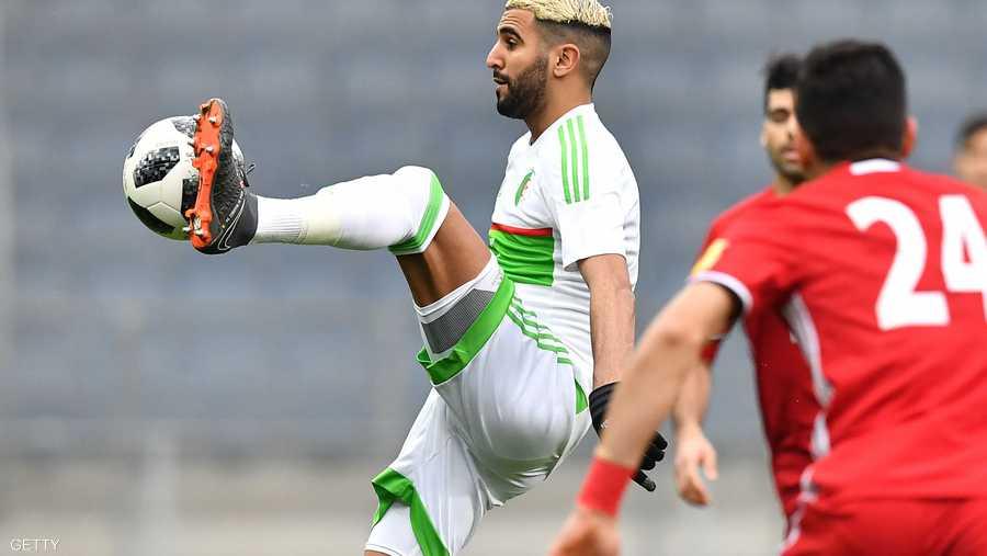 7- الجزائري رياض محرز (مانشستر سيتي الإنجليزي) (60 مليون يورو)