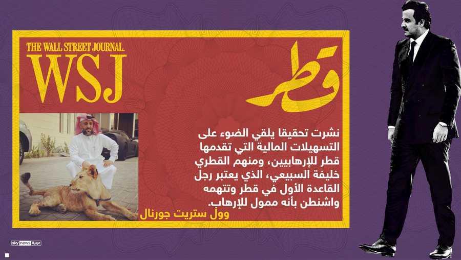 تقرير يكشف التسهيلات المالية التي تقدمها قطر للارهابيين