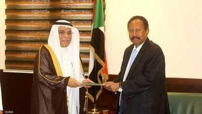 حمدوك يستقبل السفير السعودي بالخرطوم