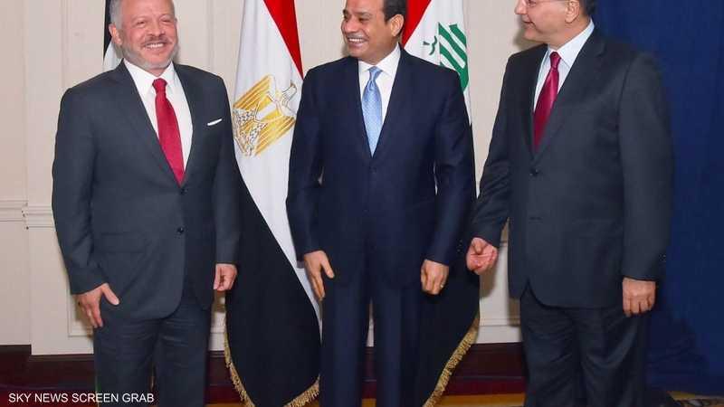 قادة مصر والأردن والعراق: أمن الخليج مكون أساسي من أمن العرب