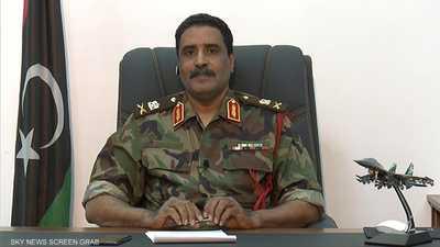 الجيش الليبي يعلن تدمير مواقع تجهيز طائرات تركية مسيرة