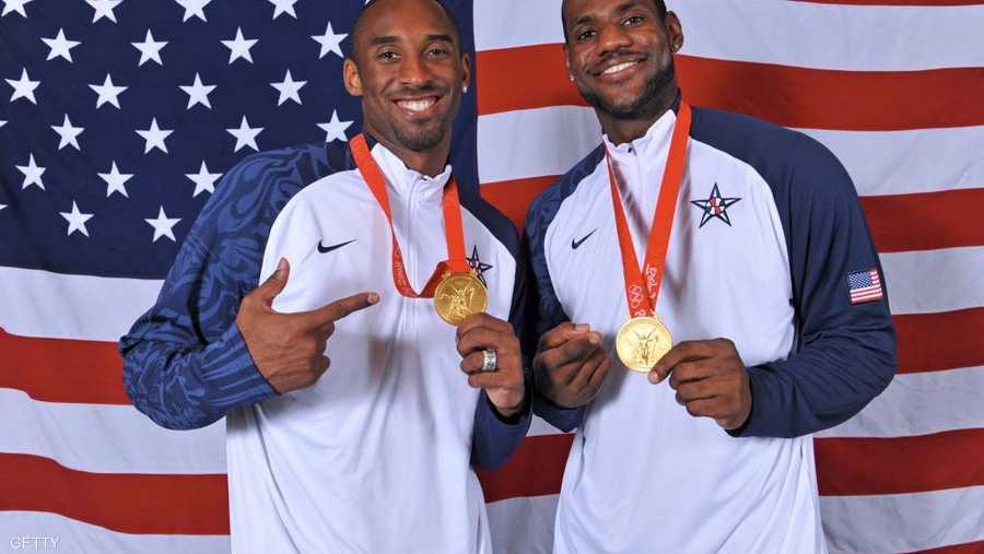حقق ذهبيتين بكرة السلة في أولمبياد بكين ولندن