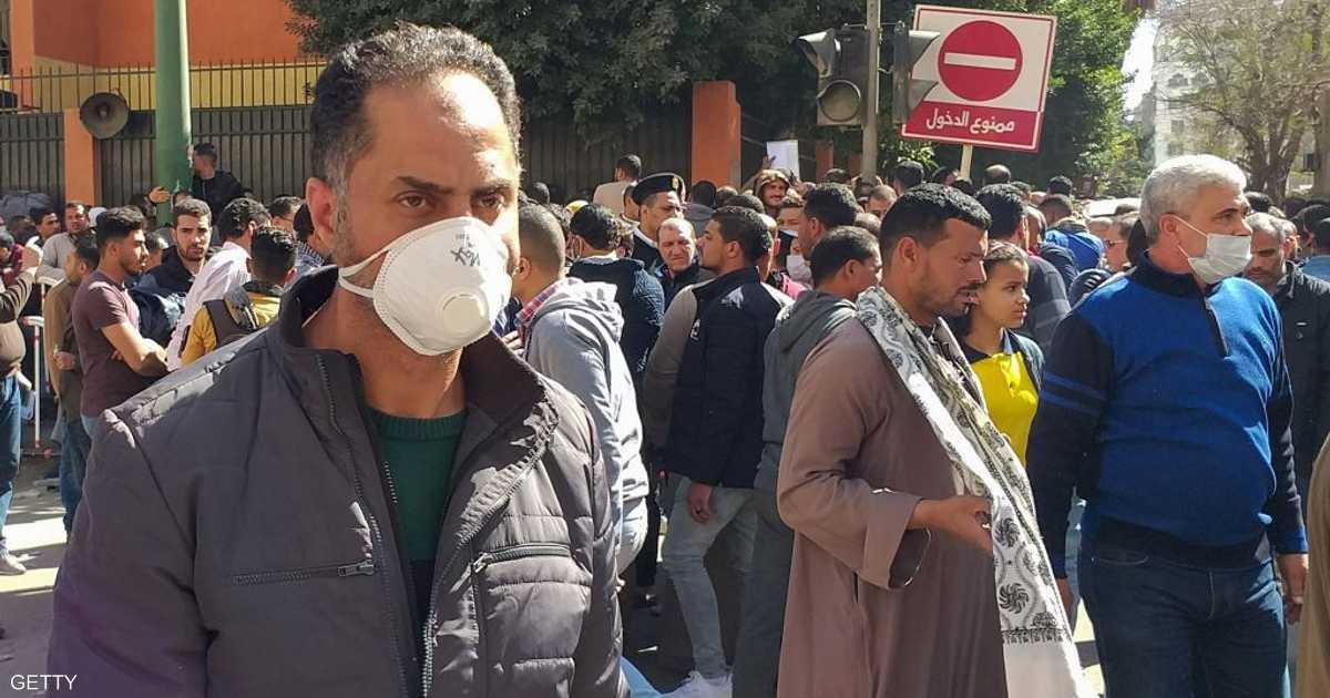 مصر تعلن حصيلة جديدة لضحايا كورونا