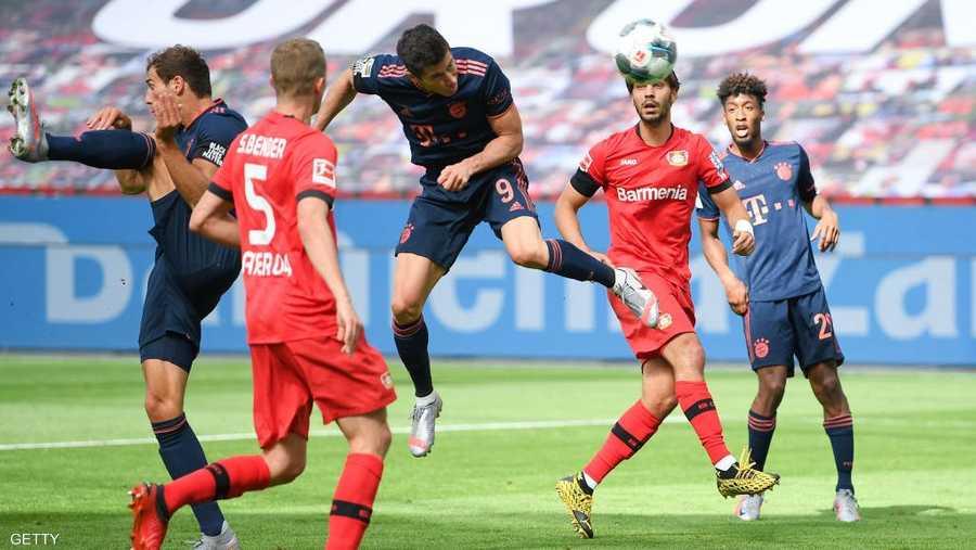 ألمانيا كانت الأولى بإعادة منافسات كرة القدم.