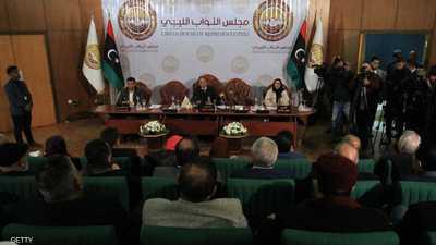 """بالفيديو.. شجار في البرلمان الليبي بسبب """"وزير الدفاع التركي"""""""