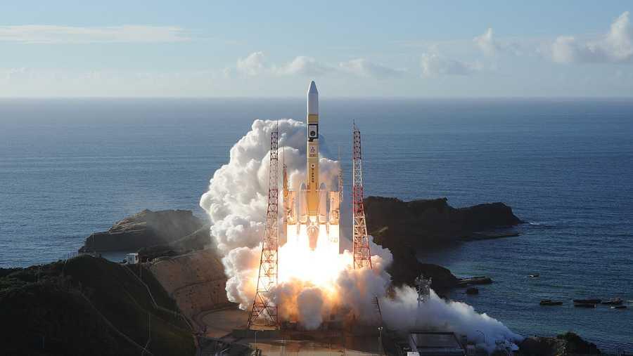 إطلاق مسبار الأمل تم من مركز فضائي ياباني