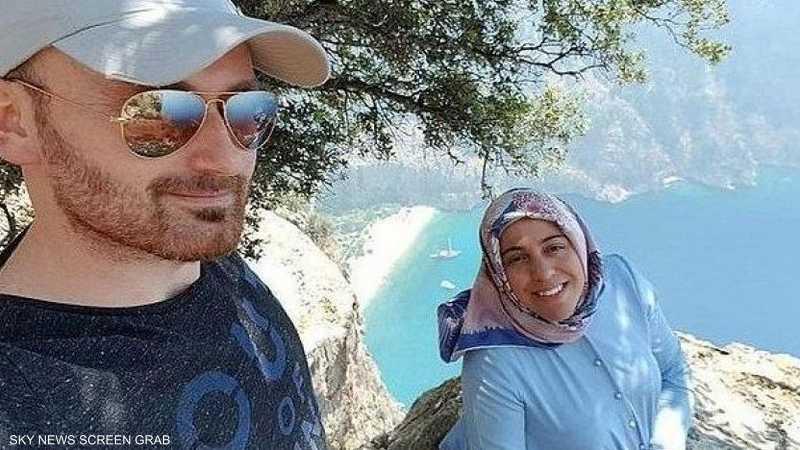 دفع بزوجته الحامل في شهرها السابع من على حافة قمة أحد الجبال