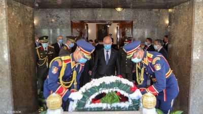 الرئيس التونسي يزور أضرحة عبد الناصر والسادات