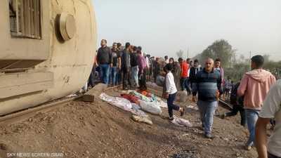 مصر.. قطار يخرج عن القضبان في القليوبية وأنباء عن ضحايا