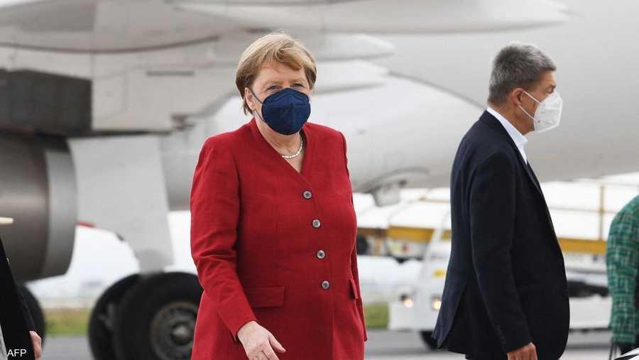المستشارة الألمانية أنغيلا ميركل تشارك في قمة مجموعة السبع المنعقدة في ظروف استثنائية هذا العام مع تفشي جائحة كوفيد-19.