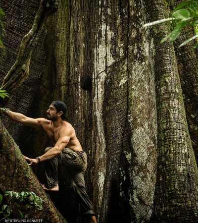 لا يشعر بول روسولي بالممل داخل غابات الامازون