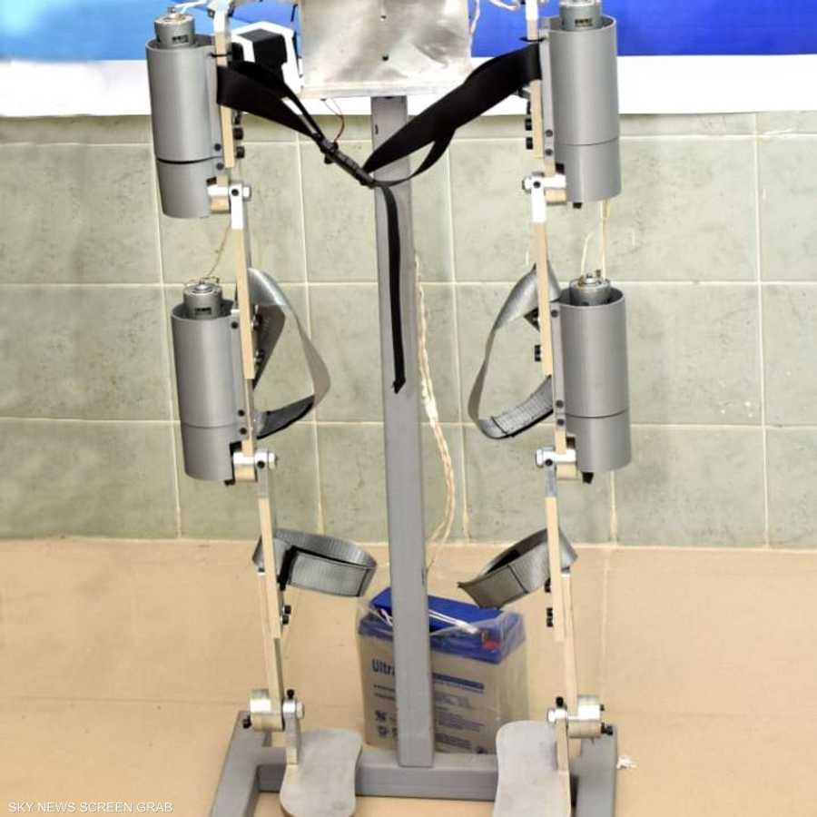 البدلة تستهدف المصابين بالشلل النصفي أو ضمور العضلات