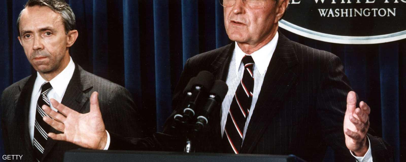 شغل بوش الأب الرئاسة لفترة واحدة فقط بين عامي 1989 و1993