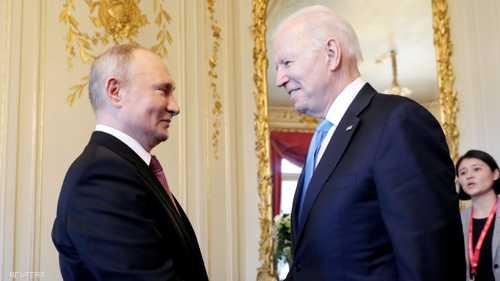بوتن وبايدن داخل مقر القمة بينهما